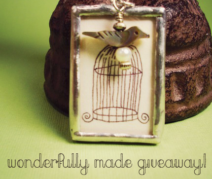 wonderfully made giveaway!