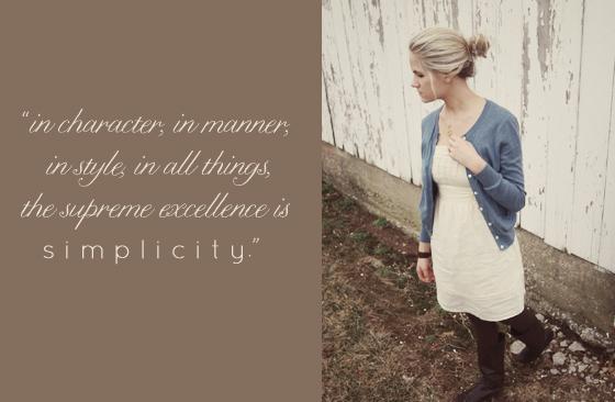 simplicity.