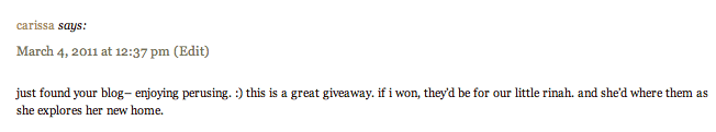 new music & giveaway winner.