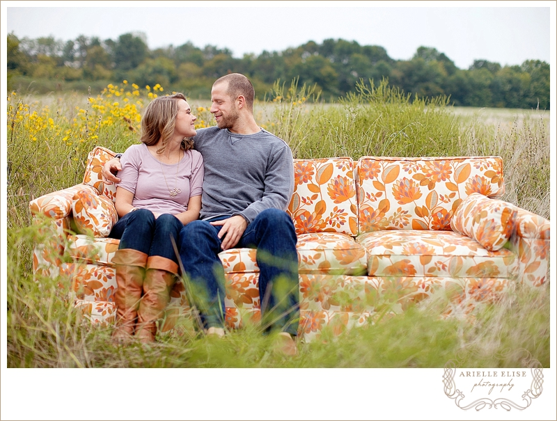zach + trish: kentucky engagement photographer