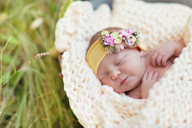 reagan brielle's newborn photos.