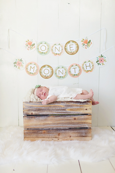reagan: one month!